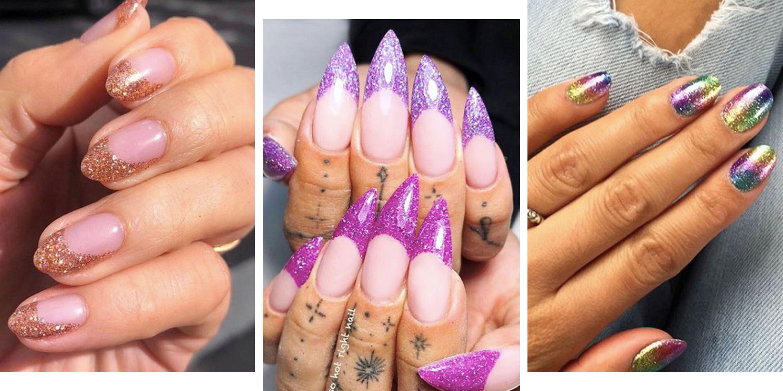 21 of the sparkliest glitter nail designs on Instagram