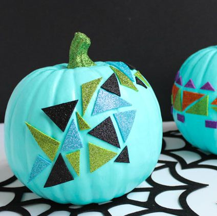 glitter pumpkin ideas
