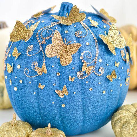 glitter pumpkin ideas