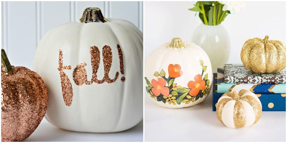 14 Best Glitter Pumpkins Fun DIY