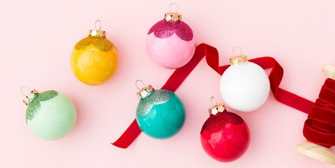 Christmas Bulbs.Diy Christmas Ornaments How To Make Homemade Christmas