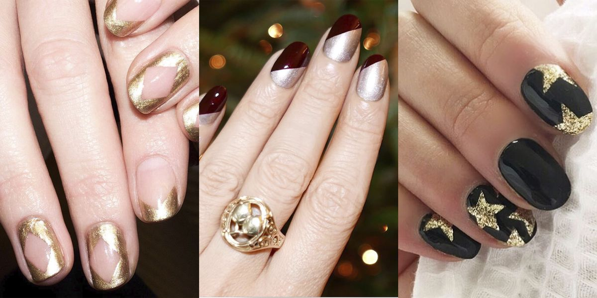 21 Glitter Nail Art Designs - Sparkly Ideas for Chic Glitter Manicures