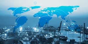 Global logistics network and transportation