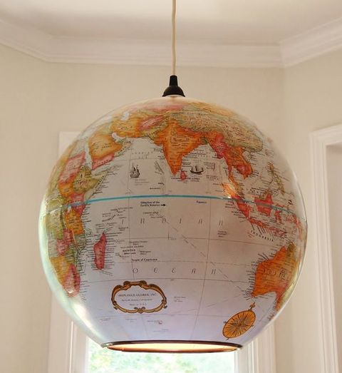 How To Make A Globe Pendant Lamp Diy Light