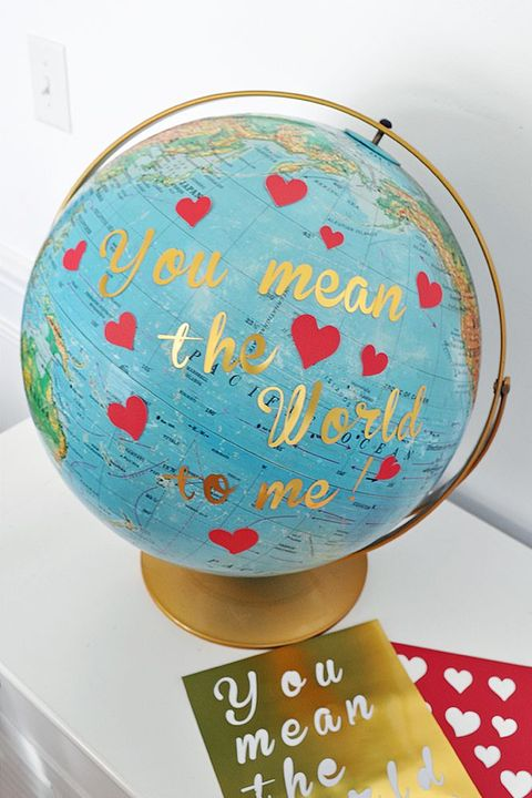 Globe  Valentines Day Crafts