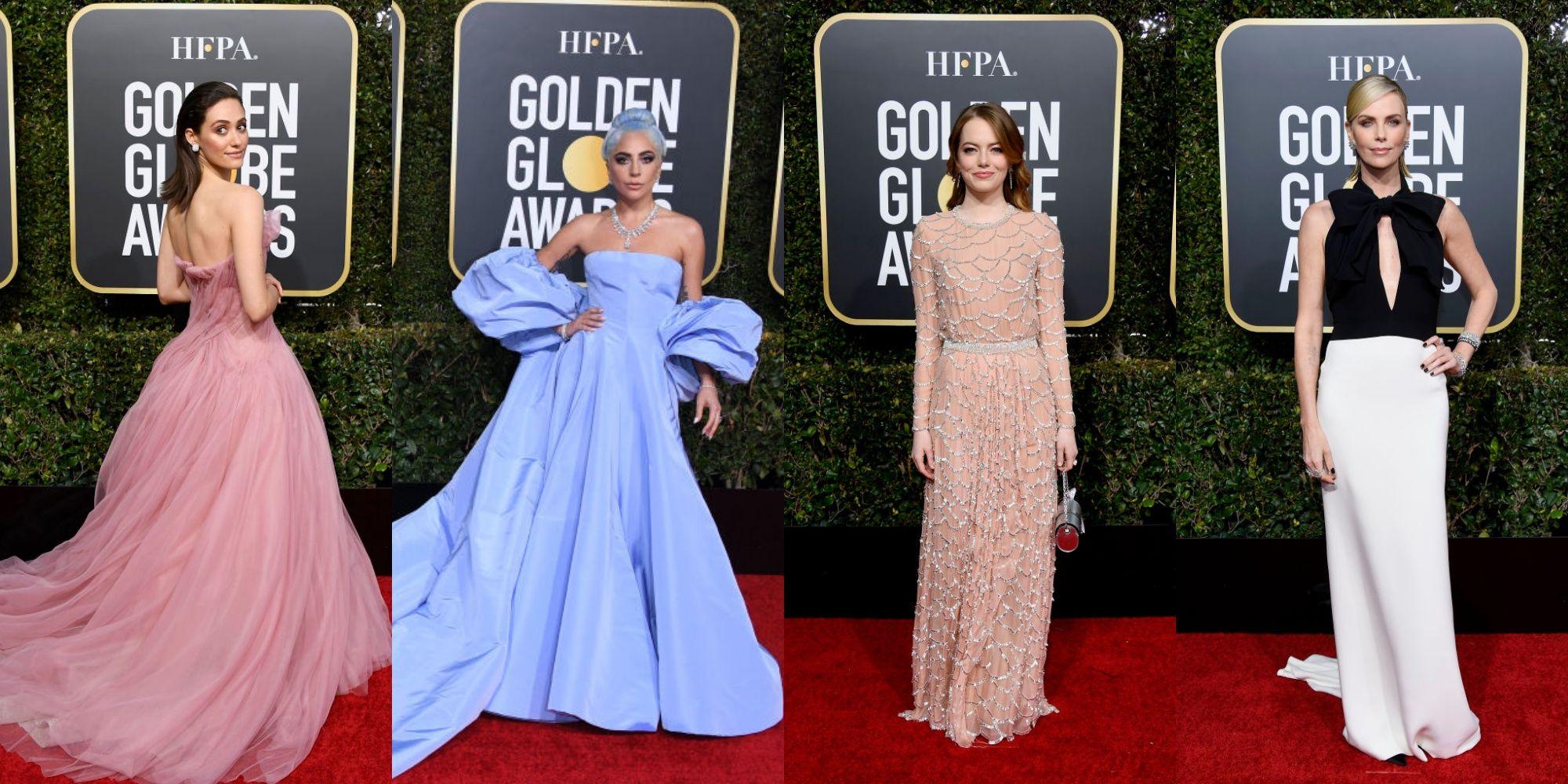 Globos de Oro 2019: la alfombra roja al completo Globos de