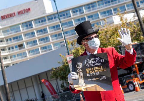 protestas en los globos de oro 2021