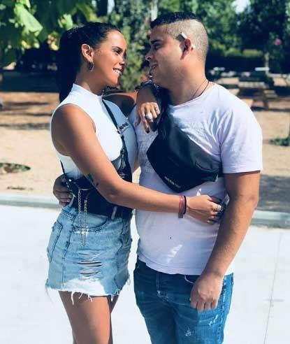 Gloria Camila y José Fernando en una fotografía de Instagram