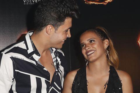 Gloria Camila Ortega y su novio, Kiko Jiménez
