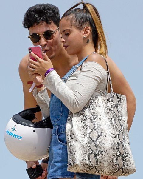 Gloria Camila y Kiko Jiménez en Ibiza