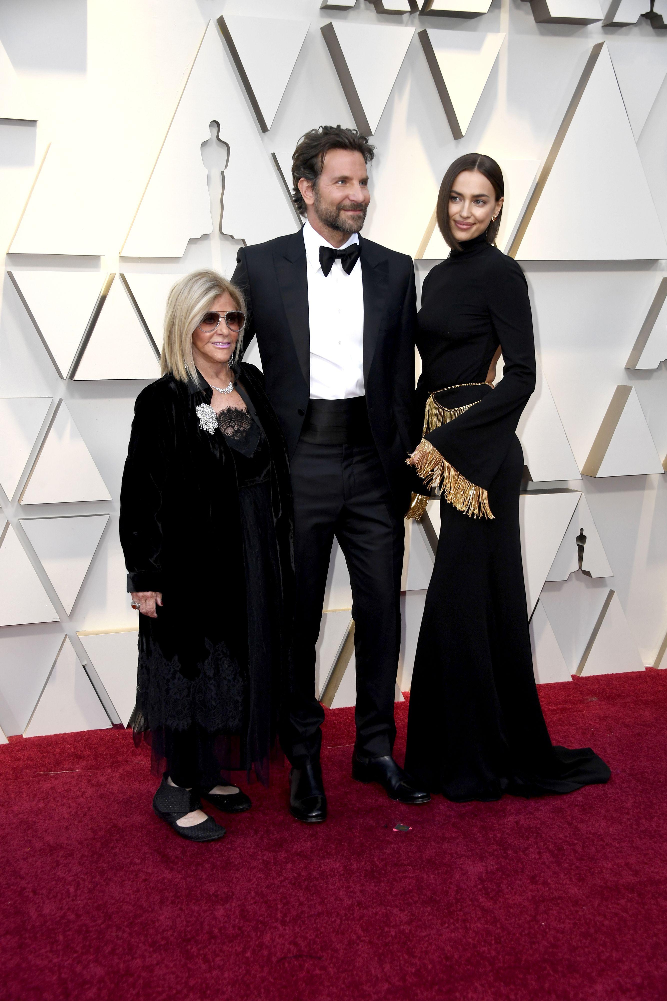 Gloria Campano, Bradley Cooper e Irina Shayk Premios Oscar 2019