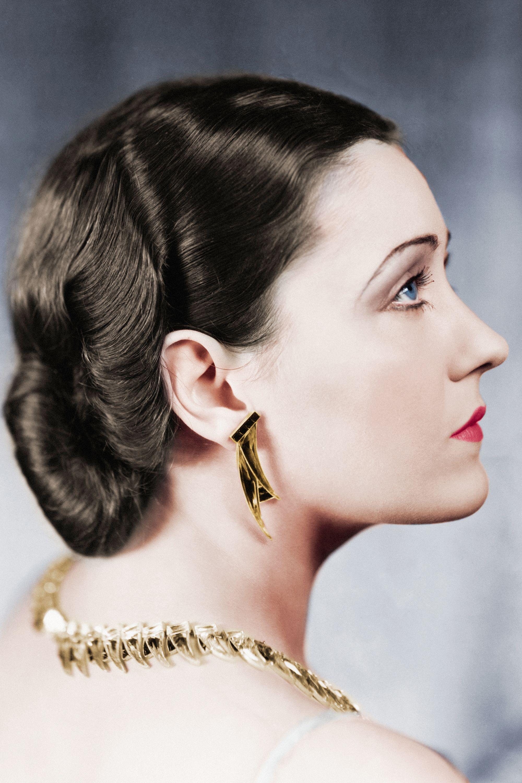 Gloria Swanson hair inspiration