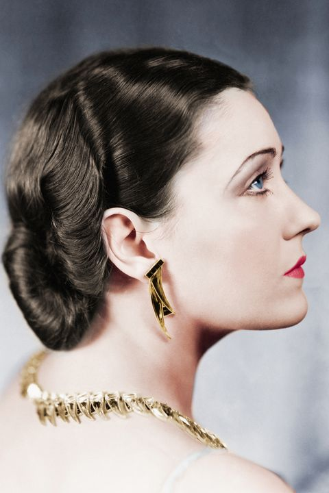 Gloria Swanson hair inspiration