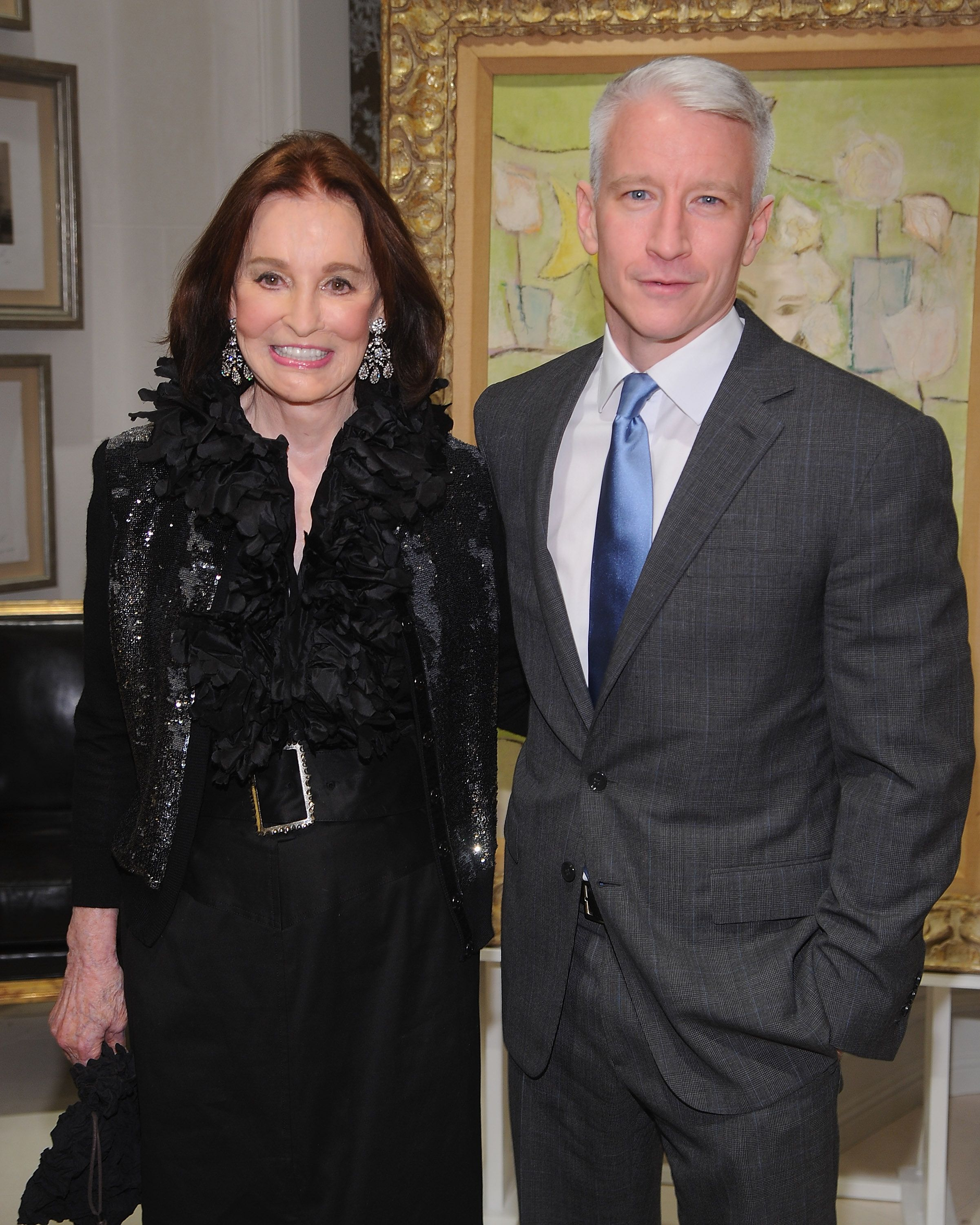 Anderson Cooper Shares a Loving Tribute to Mother Gloria Vanderbilt on Instagram