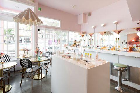 Cafeterías rosas