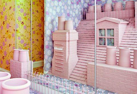 Glossier London Pop-up Store