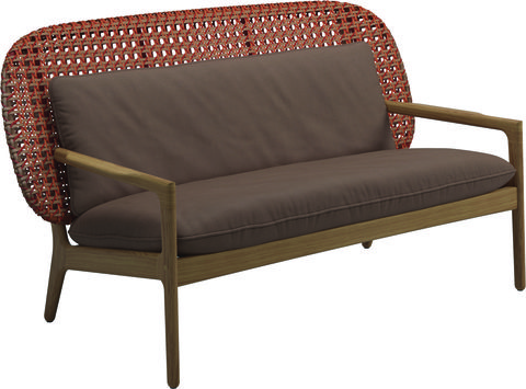 kay outdoor sofa by gloster garden furniture ideas