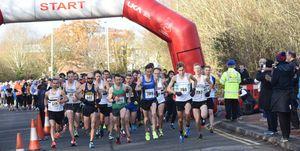 runners directed wrong way gloucester marathon