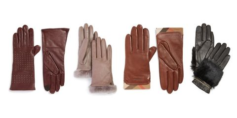Glove, Personal protective equipment, Safety glove, Leather, Brown, Fashion accessory, Hand,