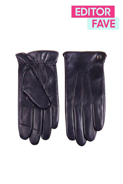 Texting Italian Nappa Leather Gloves