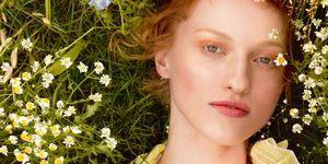 Chanel glowing skin beauty shoot