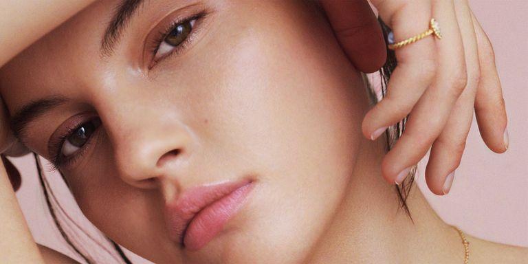 skincare close-up