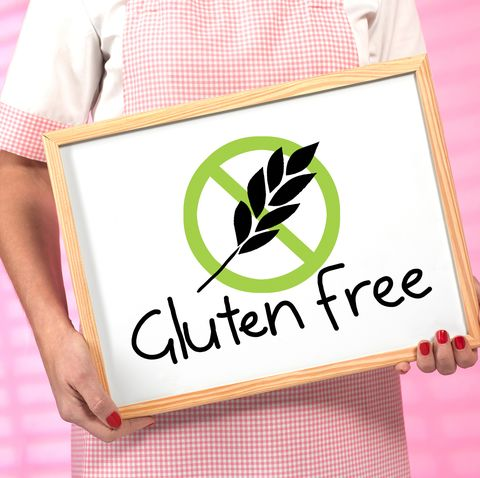 gluten free food served