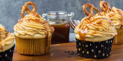 Food, Cupcake, Dish, Cuisine, Ingredient, Dessert, Buttercream, Baked goods, Baking, Muffin,