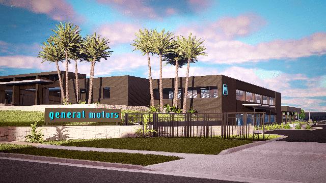gm design center in pasadena