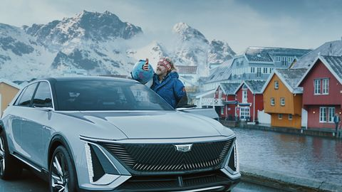 general motors' big game ad stars will ferrell, who discovers norway far outpaces the united states in electric vehicle adoption in the commercial,