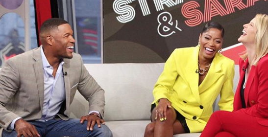 Why Is Keke Palmer Hosting Strahan And Sara Why She S On With Gma Star Michael Strahan