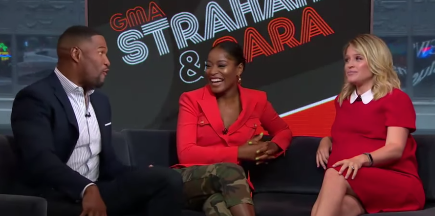 Why Is Keke Palmer Hosting 'Strahan and Sara' - Why She's on With