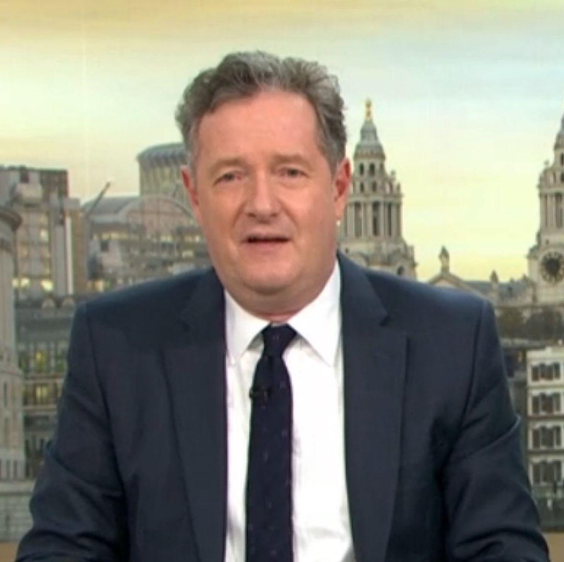 "Good Morning Britain's Piers Morgan calls anti-Brexit campaigner ""moron"" as he gatecrashes news segment"
