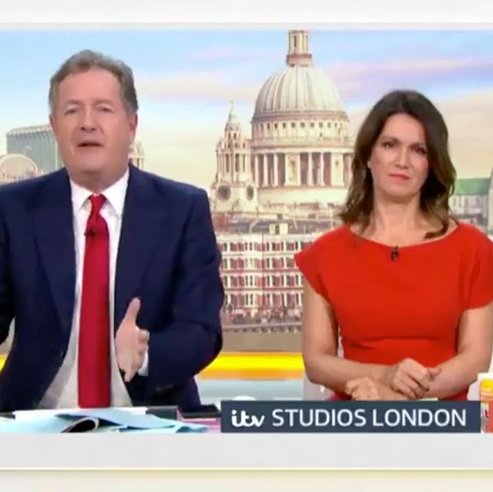 Good Morning Britain's Piers Morgan slams pro-life guest for saying she supports the death penalty but not abortion