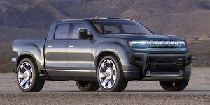 2022 GMC Hummer EV rendering