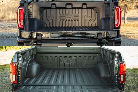 ford f-150 aluminum bed