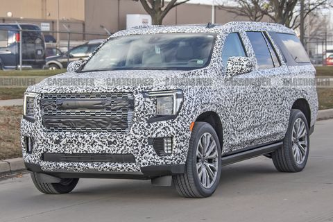 2021 GMC Yukon Looks Blockier, More Attractive Than New ...