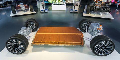 bateria coche electrico GM