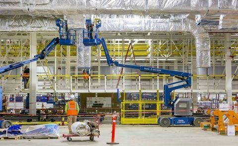 gm hamtramck factory zero interior