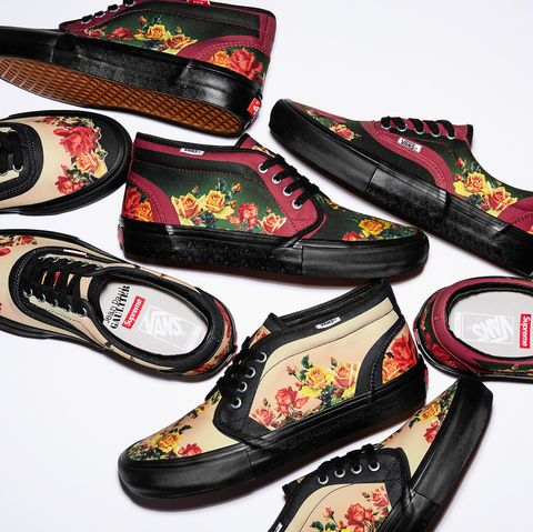 0f65d57595 Supreme x Jean Paul Gaultier Collaboration Vans Era and Chukka Sneakers