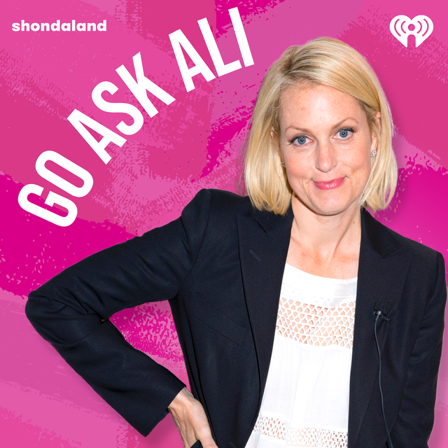 ali wentworth on the go ask ali podcast logo