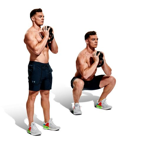 Weights, Arm, Exercise equipment, Muscle, Shoulder, Standing, Dumbbell, Chest, Abdomen, Joint,