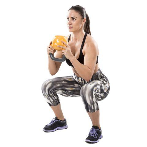 Goblet squat - Kettlebell exercise