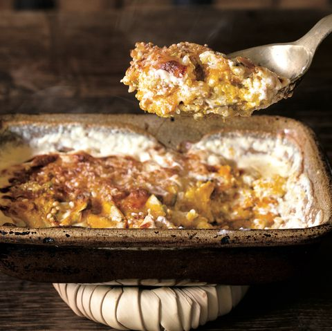ごちそうご飯レシピ かぼちゃと米のグラタン