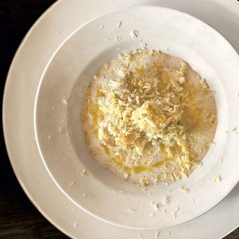 ごちそうご飯レシピ 栗と鶏と米のスープ