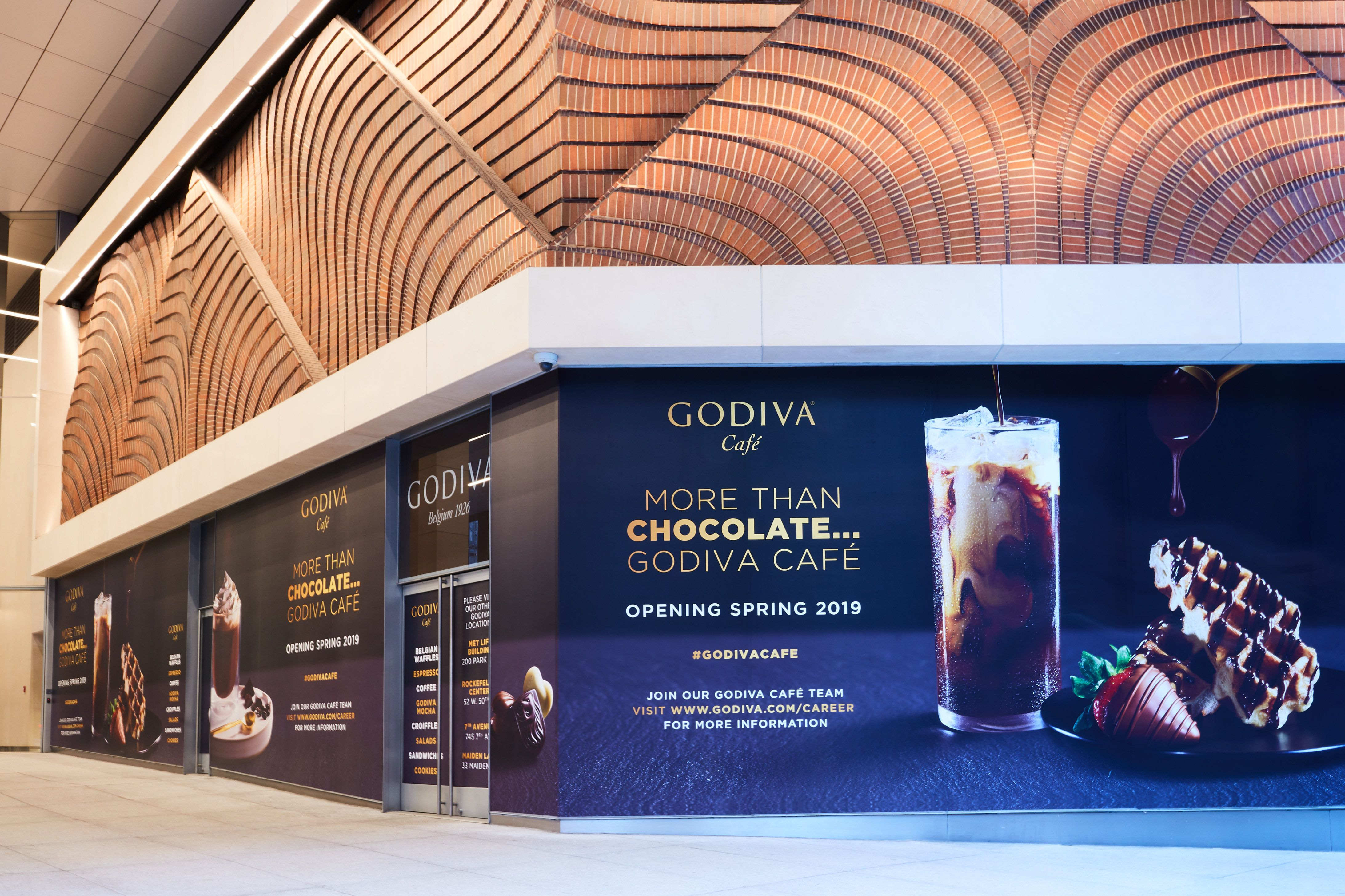 Godiva Is Opening Its First Café In The U.S, Complete With All The Sweet Treats You Could Ever Want