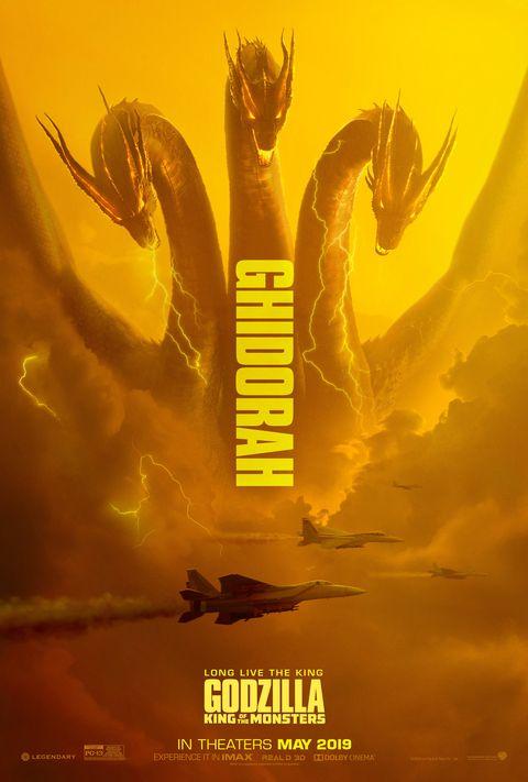 Godzilla 2 poster