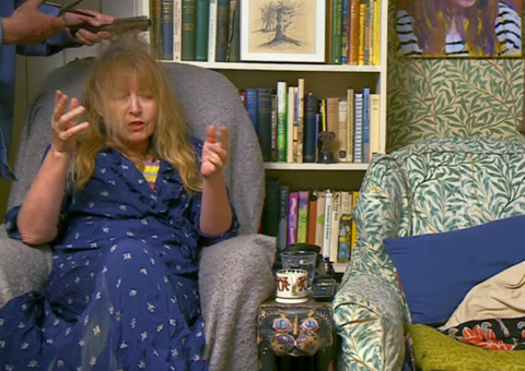 Gogglebox viewers are left in hysterics over Giles and Mary's hair