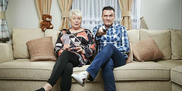 gogglebox throwback picture jenny and lee