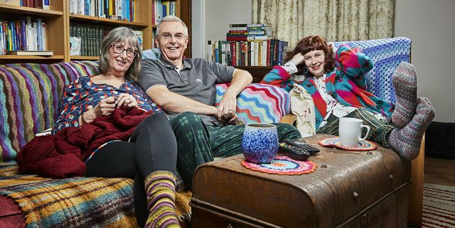 Gogglebox star introduces viewers to her baby during new series premiere